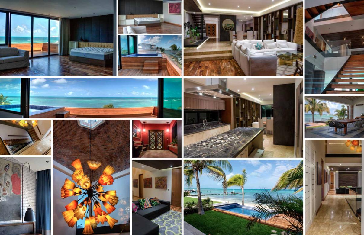 Exclusiva Casa en Venta Cancun Zona Hotelera Las Quintas