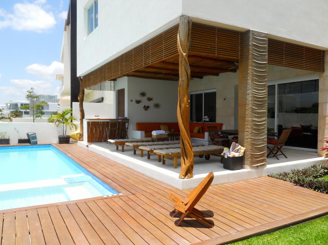 Casa en Venta Puerto Cancun con muelle 4 recamaras